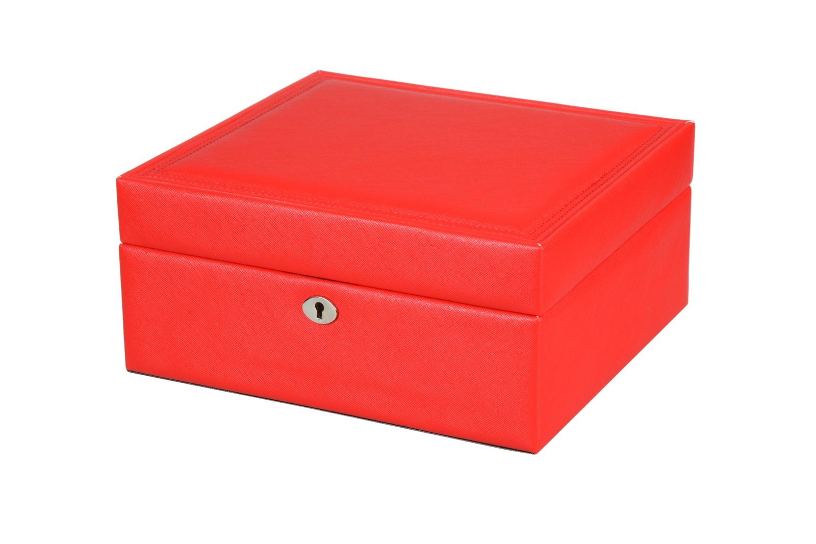 Шкатулка для украшений IsmatDecor, S-0261, красный цена 2017