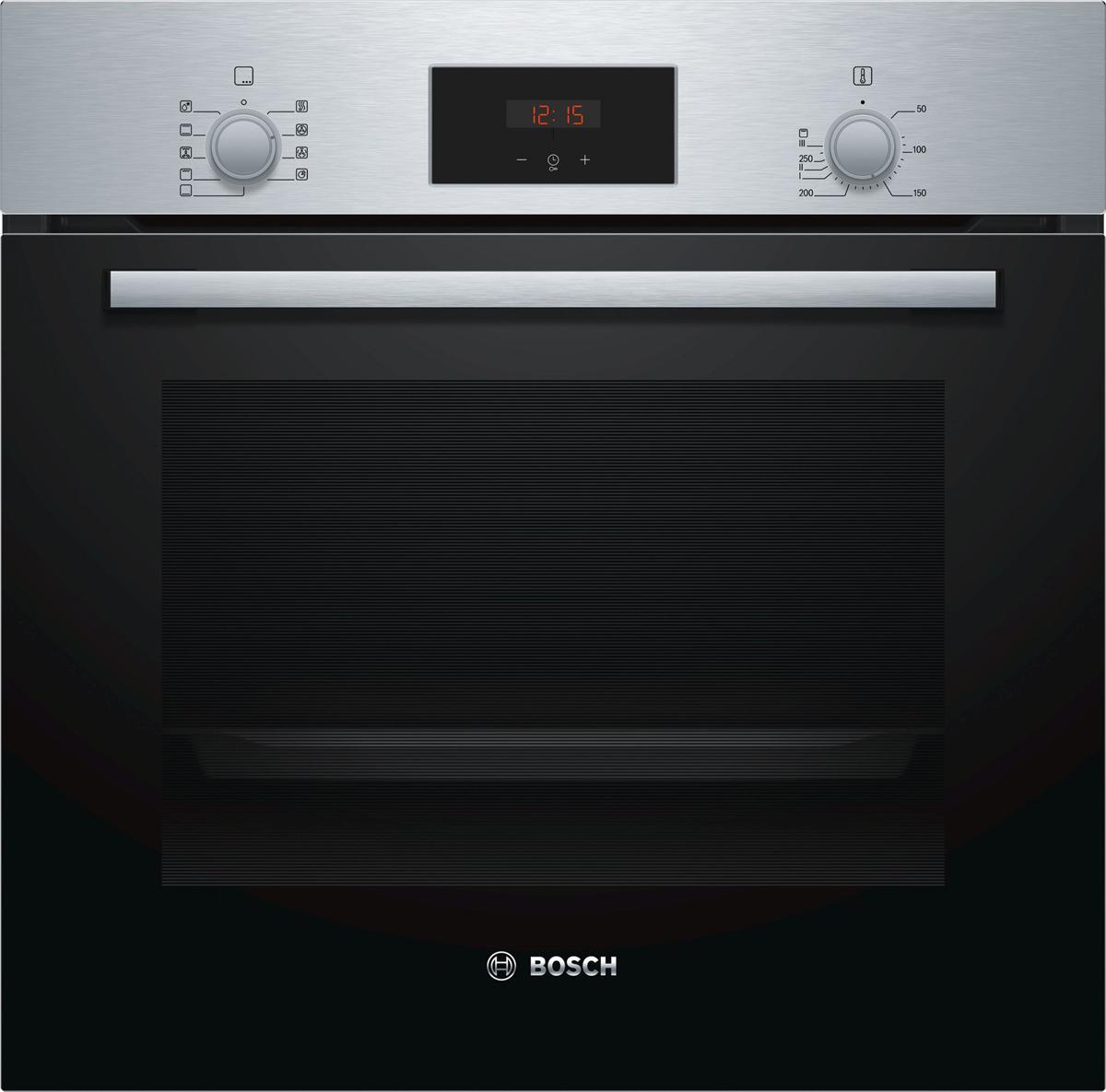 Духовой шкаф электрический встраиваемый Bosch Serie 2 HBF114BR0R все цены
