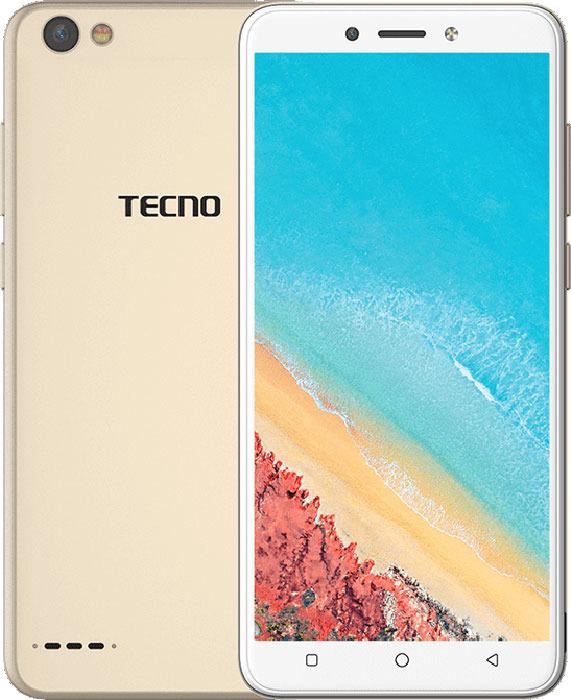 Смартфон Tecno Pop 1s Pro 2/16GB, золотой