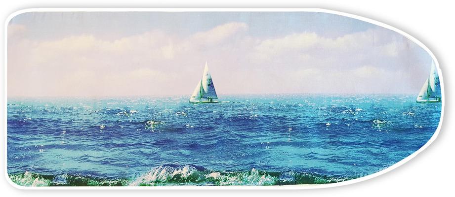 Чехол для гладильной доски Zalger, 520116, цвет в ассортименте, 130 x 46 см. недорого