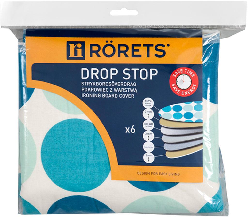 Фото - Чехол для гладильной доски Rorets Drop Stop, 120 х 40 см.7595 стикеры для стен zooyoo1208 zypa 1208 nn
