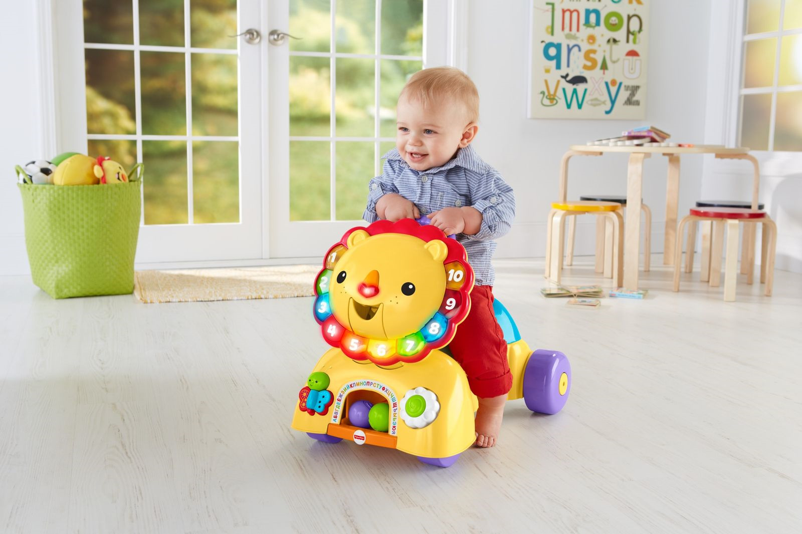 Fisher-Price Ходунки Львенок 3 в 1