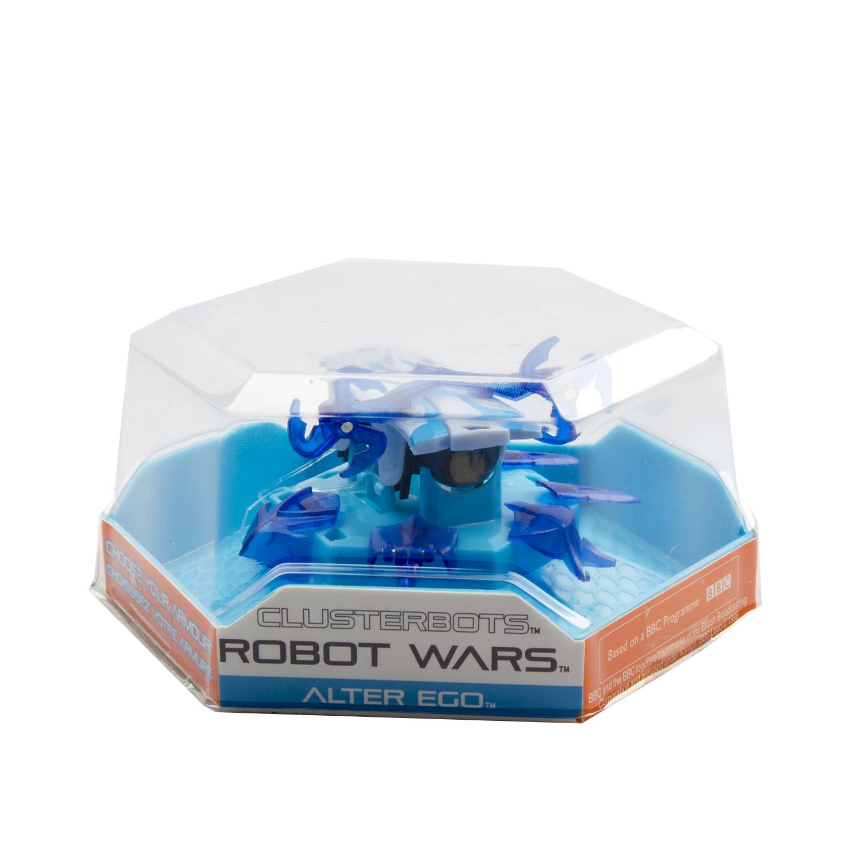 """Игрушечный робот HEXBUG """"Космический легионер. Альтер Эго"""" (2 диска) синий"""