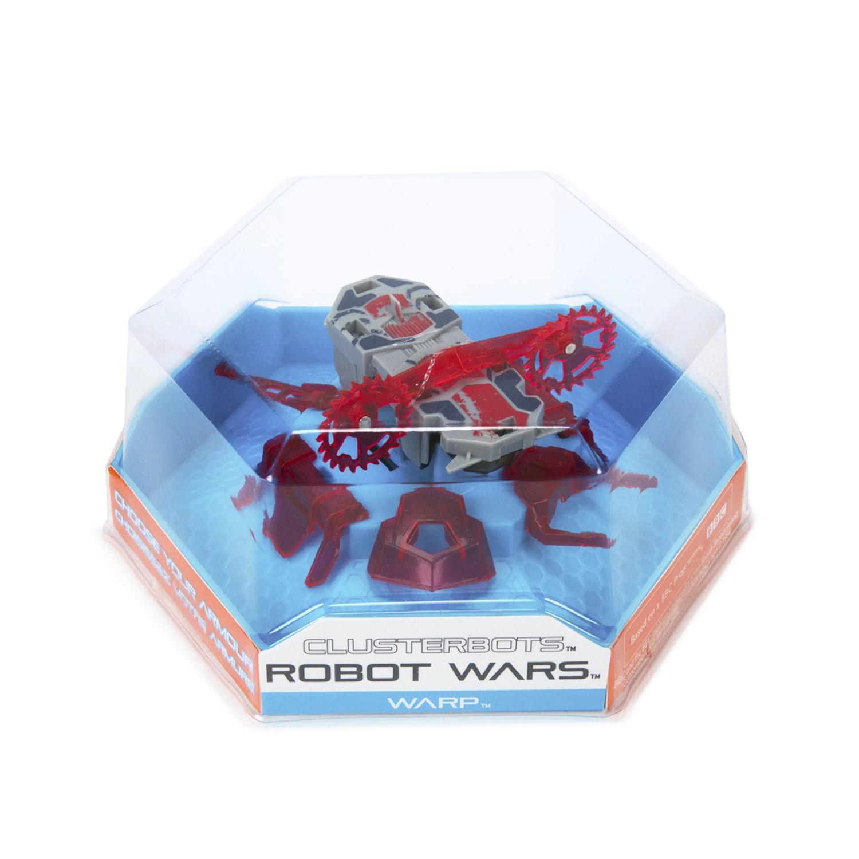 """Игрушечный робот HEXBUG """"Космический легионер. Варп"""" (2 диска) красный"""
