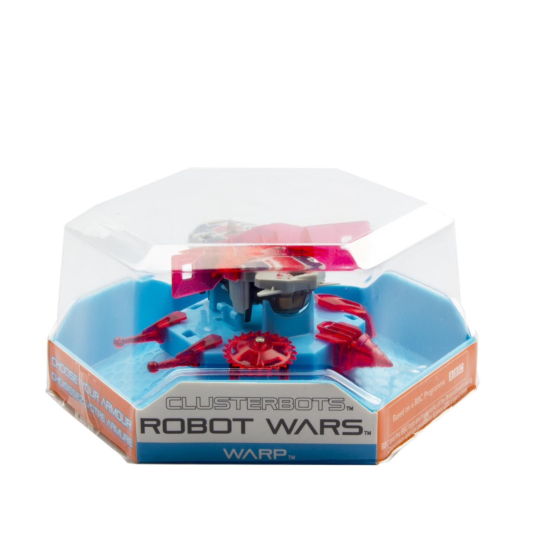 """Игрушечный робот HEXBUG """"Космический легионер. Варп"""" (2 экрана) красный"""