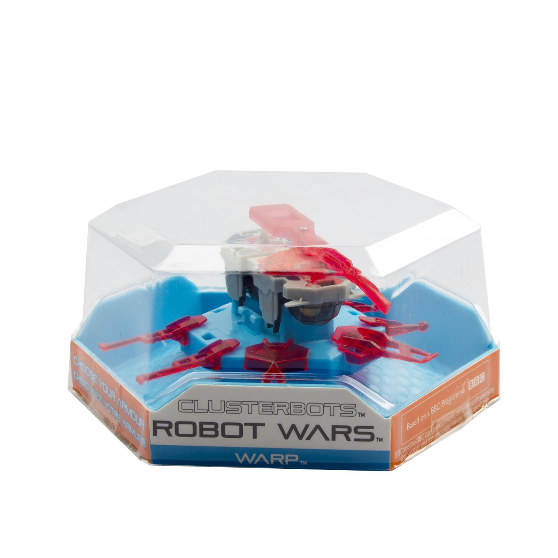 """Игрушечный робот HEXBUG """"Космический легионер. Варп"""" (Коса) красный"""