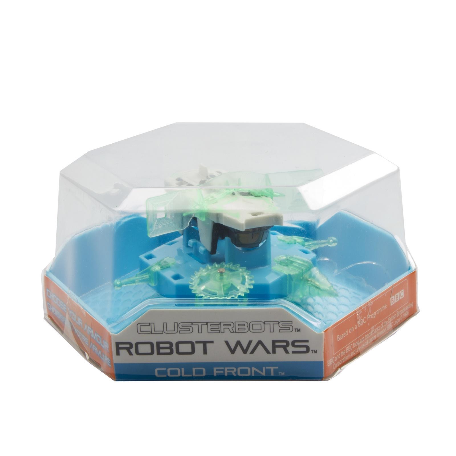 """Игрушечный робот HEXBUG """"Космический легионер. Колд Фронт"""" (2 экрана) зеленый"""