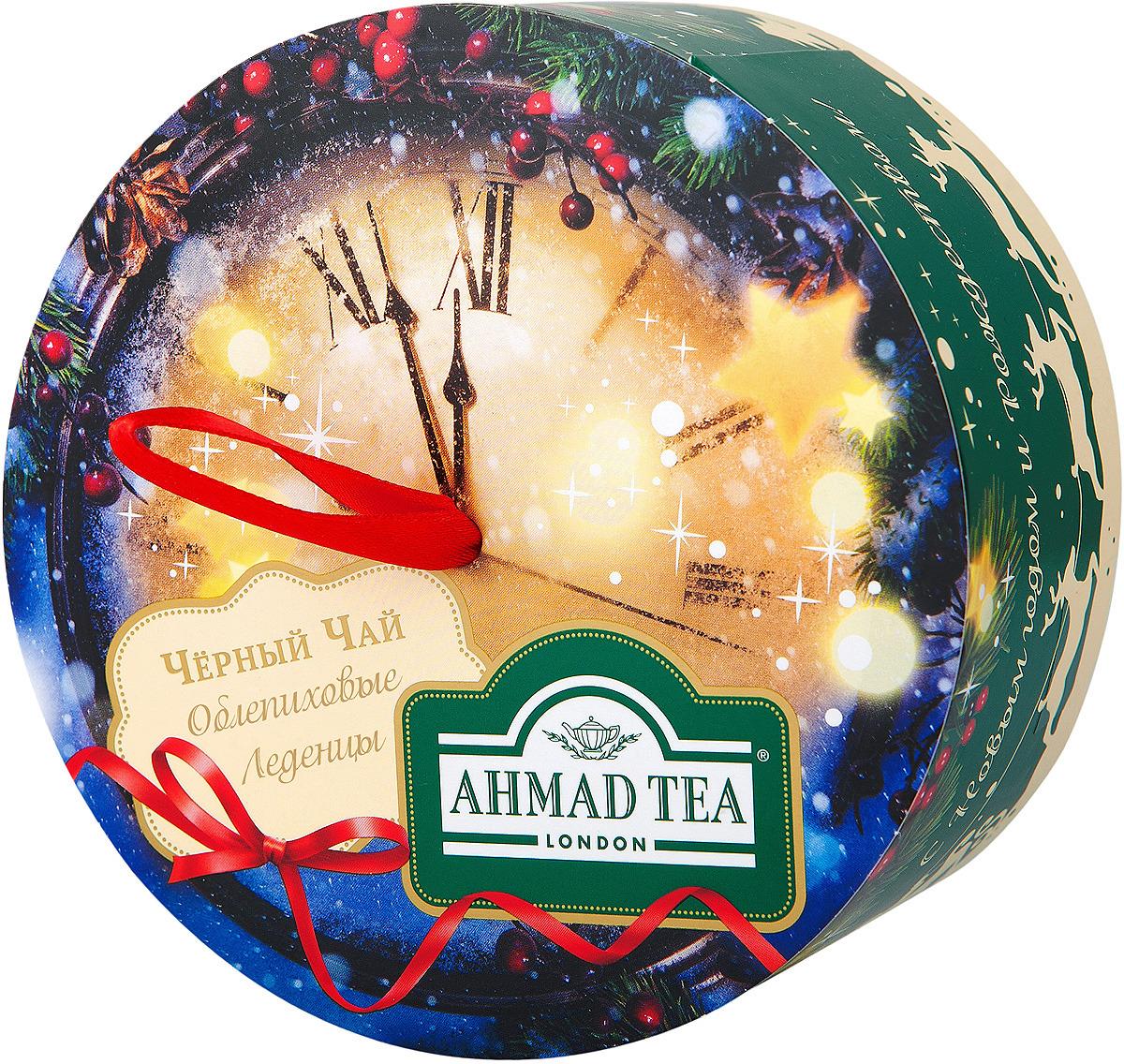 Чай листовой Ahmad Tea Облепиховые Леденцы. Новогодняя ночь, 60 г цена
