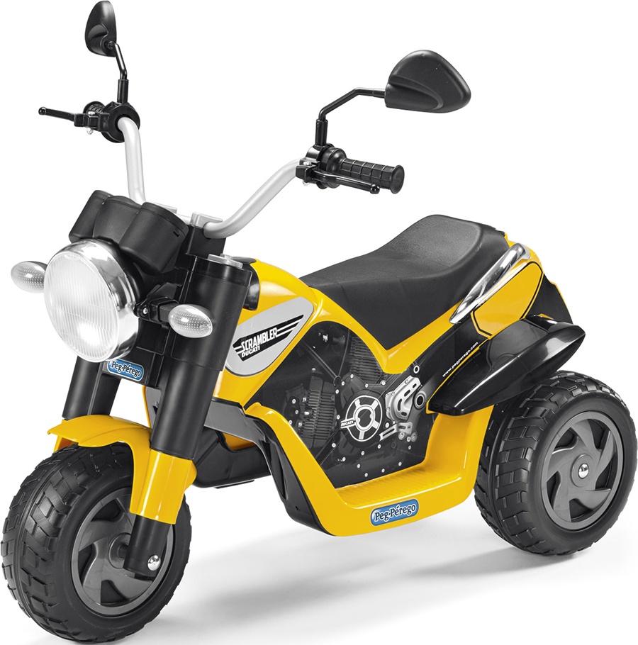 Детский электромобиль Peg-Perego Ducati Scrambler