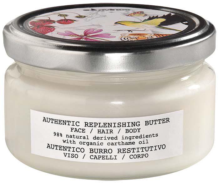 Востанавливающий крем Davines Authentic Replenishing Butter, для лица, волос и тела, 200 мл Davines