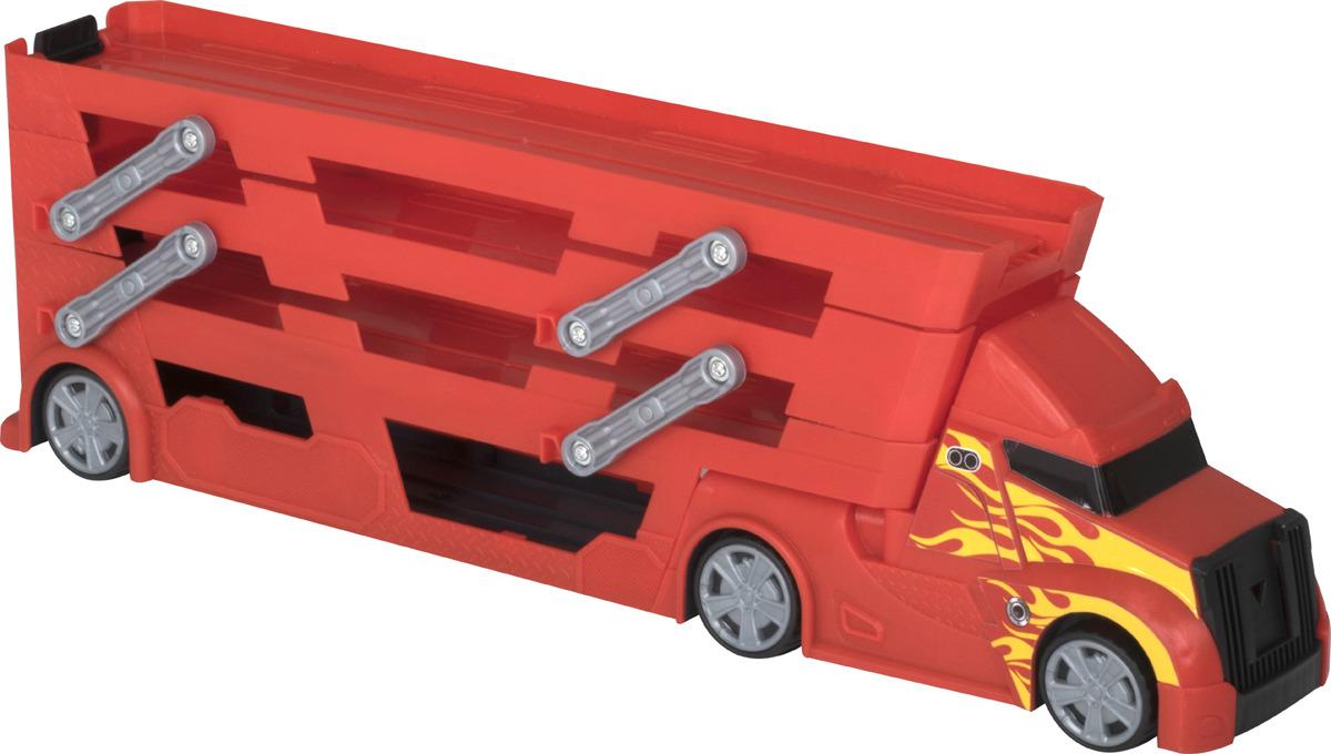 Грузовик-транспортер HTI, с системой запуска машин