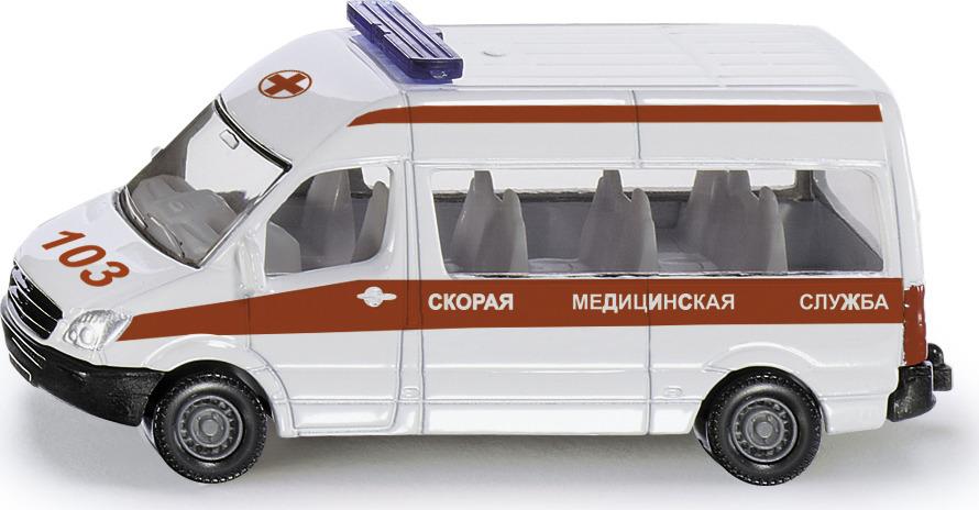 Машинка Siku Скорая медслужба набор машинок siku скорая помощь