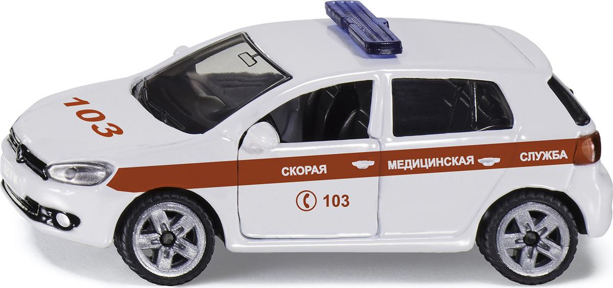Машинка Siku Скорая помощь. 1411RUS набор машинок siku скорая помощь