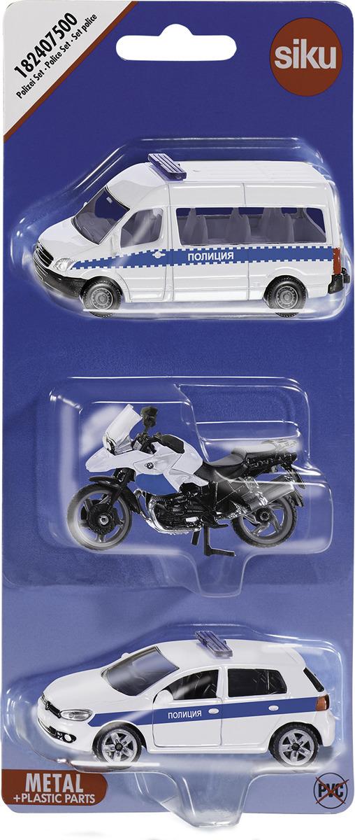 Набор машинок Siku Полиция набор машинок die cast полиция