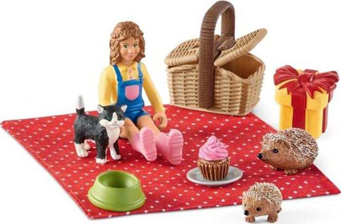 Набор фигурок Schleich Пикник на день рождения набор для пикника пикник 4