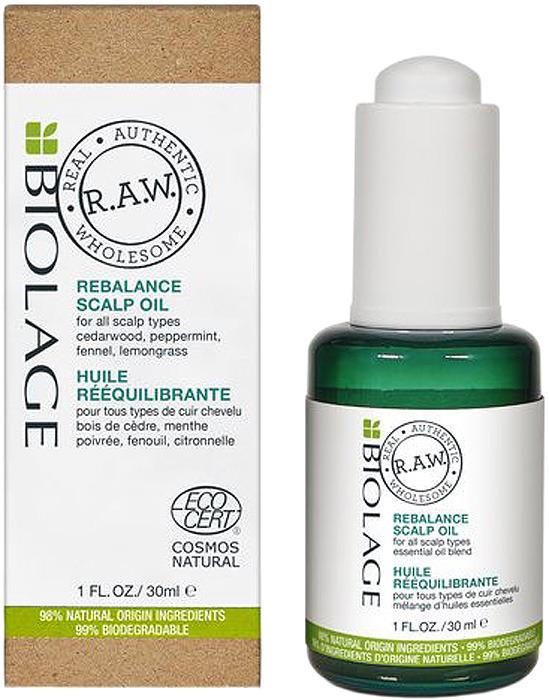 Масло для кожи головы Biolage R.A.W. Rebalance, 30 мл