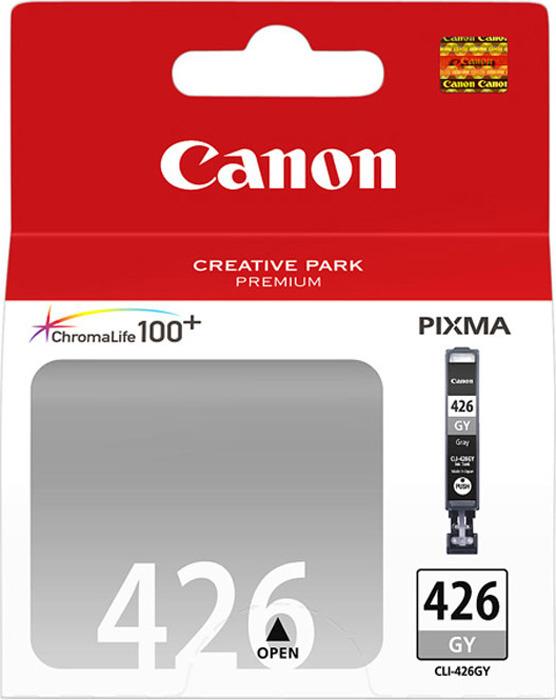Картридж Canon CLI-426GY, серый, для струйного принтера, оригинал