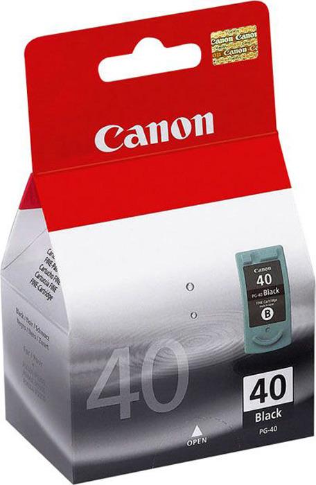 Canon PG-40BK, Black картридж для струйных МФУ/принтеров картридж canon pg 50 черный