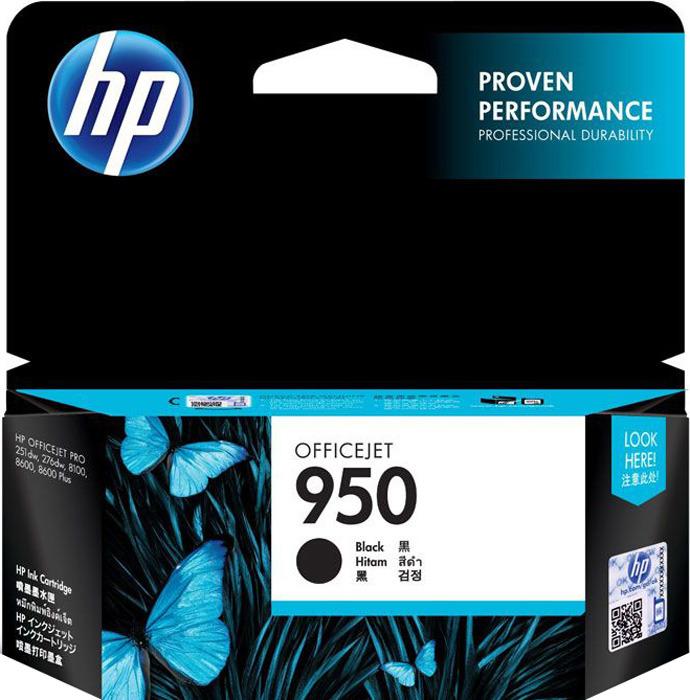 Картридж HP 950 (CN049AE), черный hp cn049ae 950 black картридж для струйного принтера