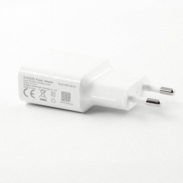 Фото - Сетевое зарядное устройство Xiaomi (Mi) Power Adapter 5V 2A (MDY-08-EO) white mg 01 usb 4 port power adapter w 2 flat pin plug black dc 5v