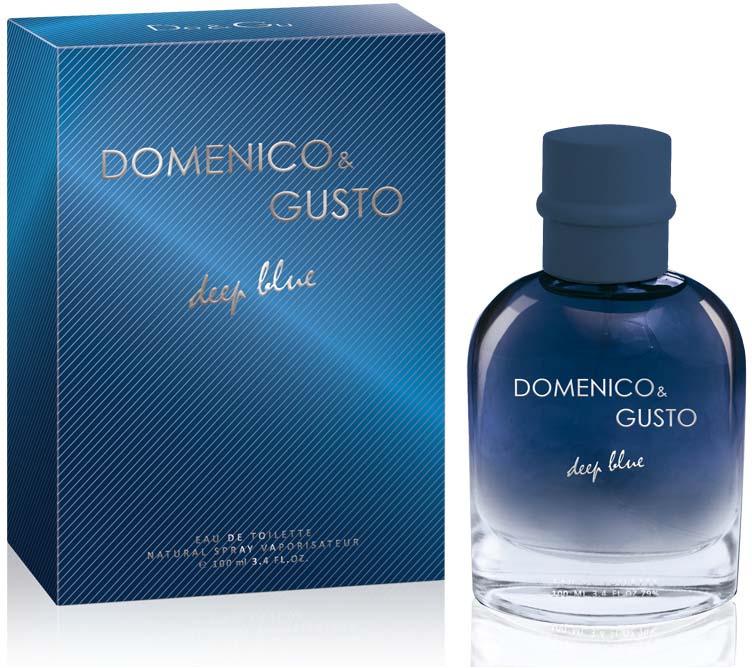Туалетная вода Christine Lavoisier Parfums Domenico&Gusto Deep Blue, мужская, 100 мл whisky premium deep blue 90 мл parfums evaflor whisky premium deep blue 90 мл