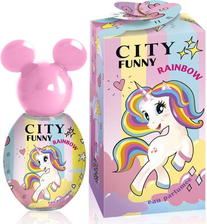 Душистая вода City Parfum City Funny Rainbow, женская, 30 мл цена