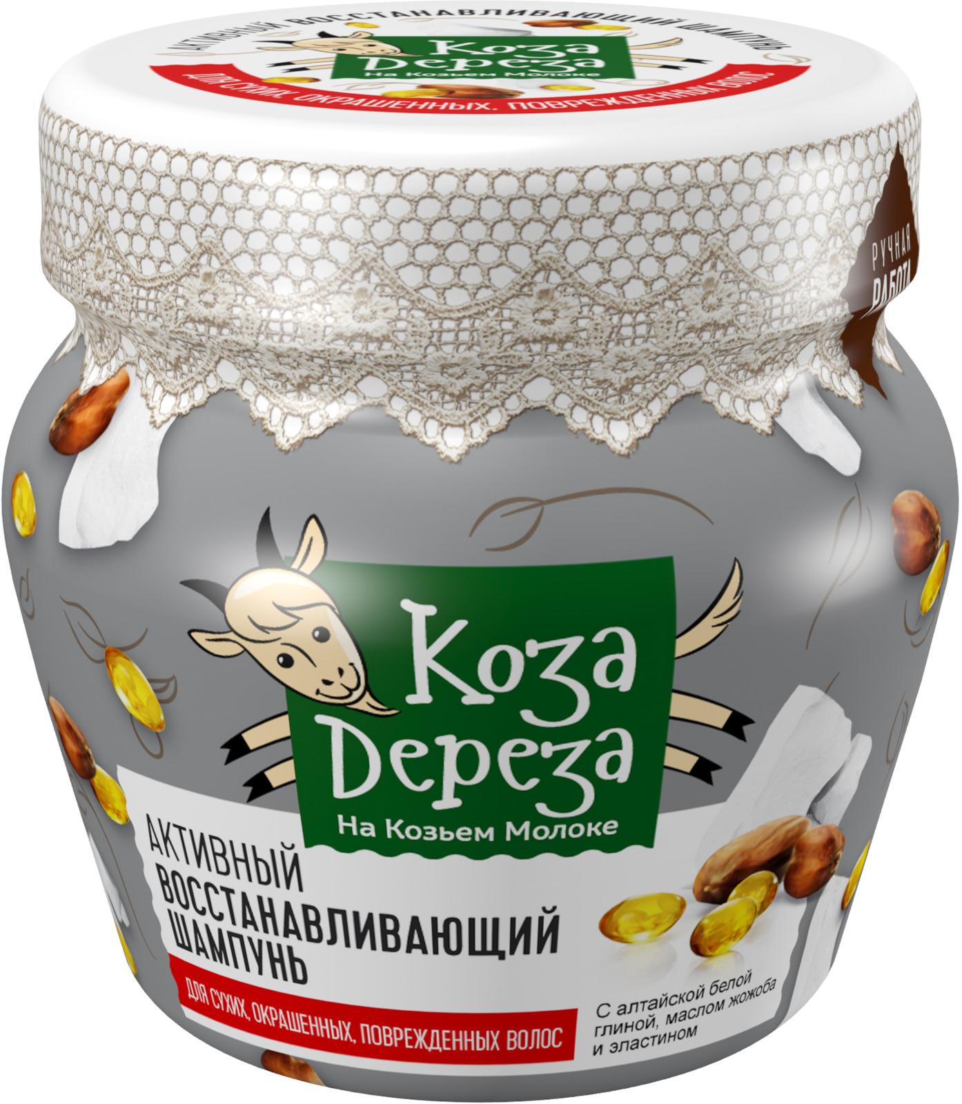 Шампунь Fito Косметик Коза Дереза. Активный восстанавливающий, 175 мл густая себорея кожи