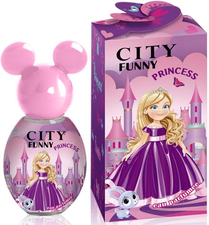 Душистая вода City Parfum City Funny Princess, женская, 30 мл цена