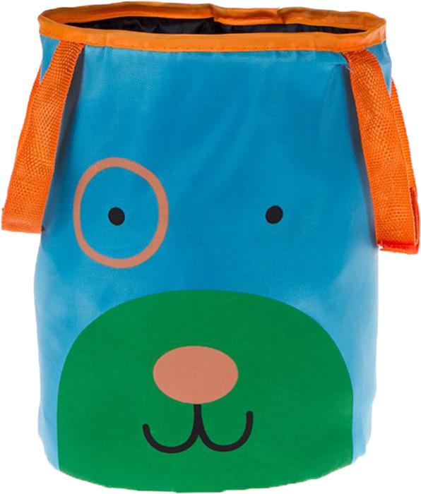 Корзина автомобильная для хранения Bradex Песик, цвет: бирюзовый корзина для хранения мелочей white clean корзина для хранения мелочей