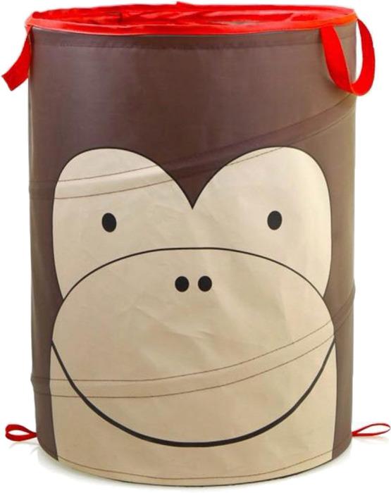 Корзина автомобильная для хранения Bradex Обезьянка, цвет: коричневый корзина для хранения мелочей white clean корзина для хранения мелочей