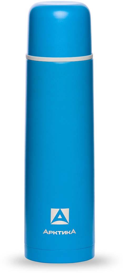 Термос Арктика, цвет: синий, 1 л. 102-1000 арктика тайга 1 5 л 110 1500 термос с узким горлом steel