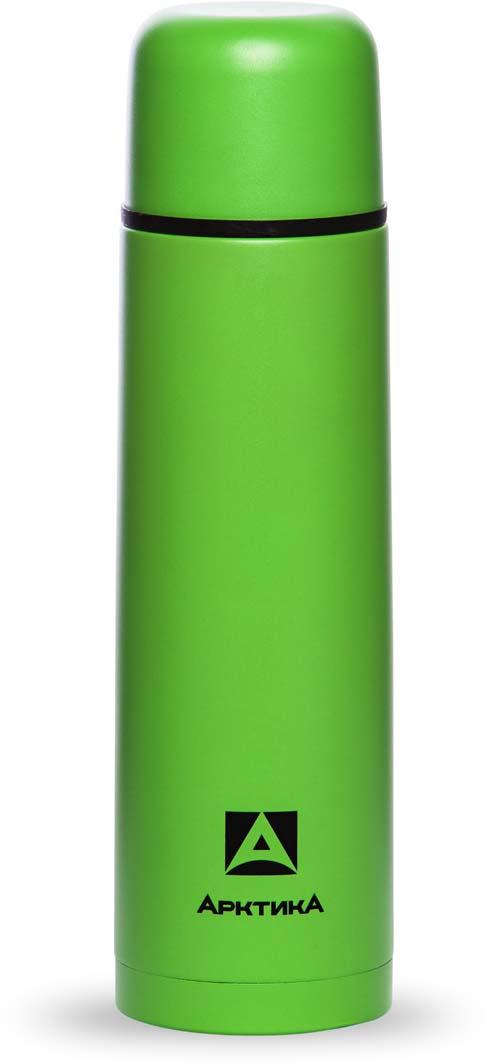 Термос Арктика, цвет: зеленый, 1 л. 102-1000 термос арктика 102 1000 1l dark green