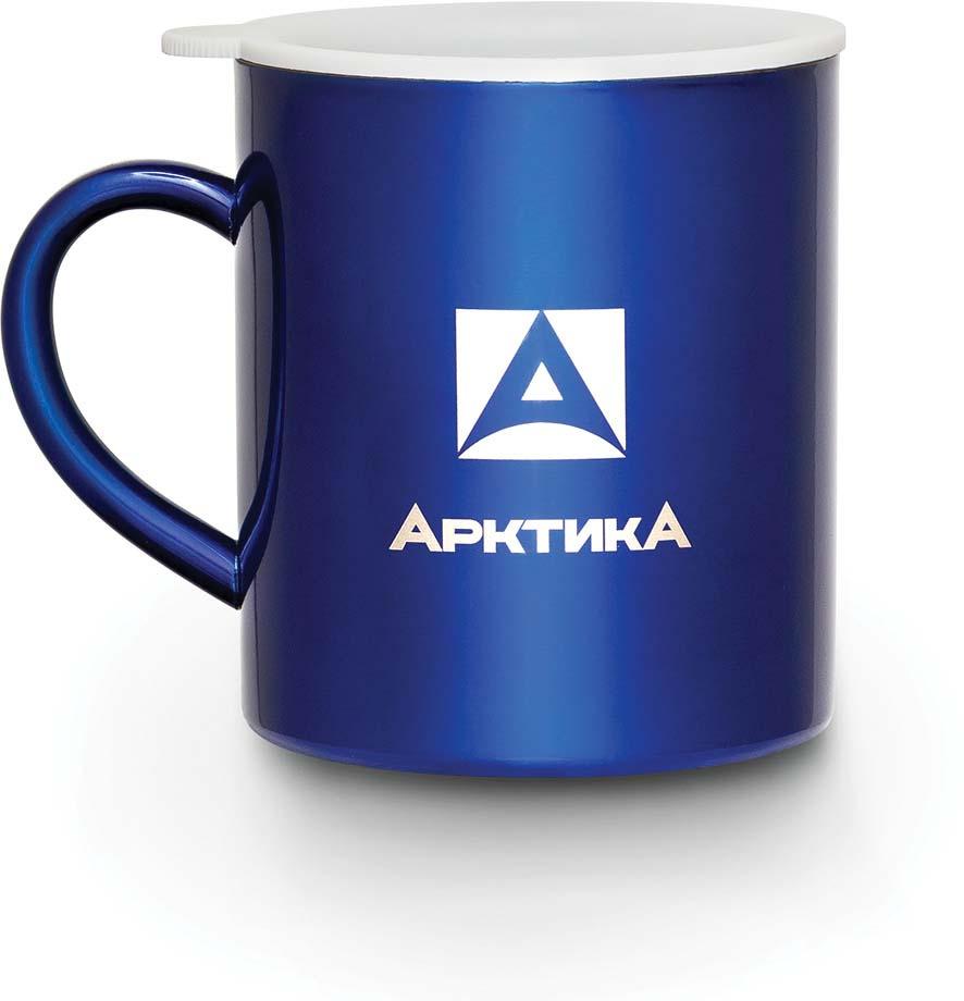 Термокружка Арктика, цвет: синий, 200 мл. 802-200