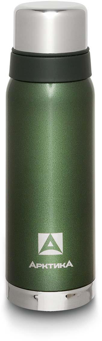 Термос Арктика, с молотковым покрытием, цвет: зеленый, 750 мл. 106-750 цена