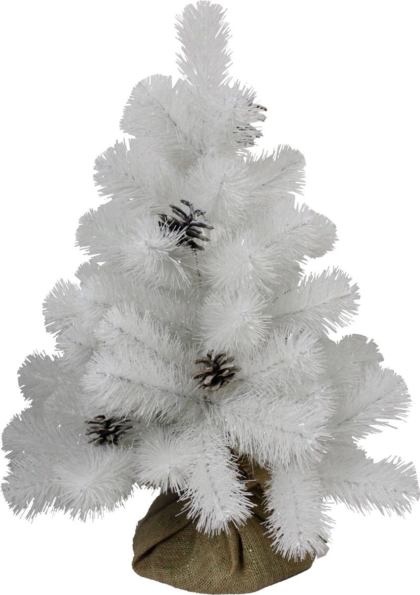 Елка настольная Beatrees White Crystal, высота 60 см