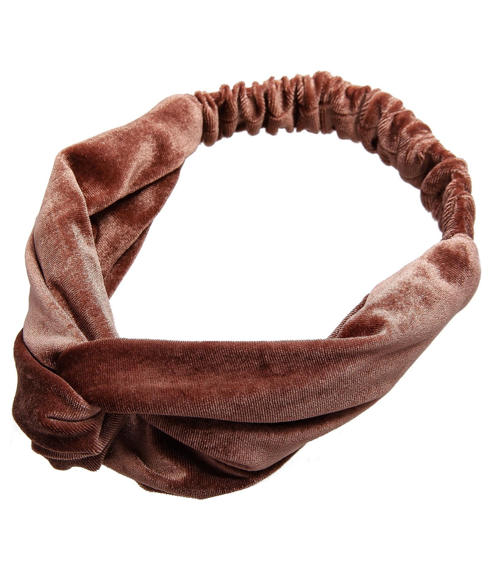 Повязка Aiyony Macie, коричневый, 52 х 7 см, AH810067AH810067Размер 52 х 7 см. Растягивается. Состав: текстиль