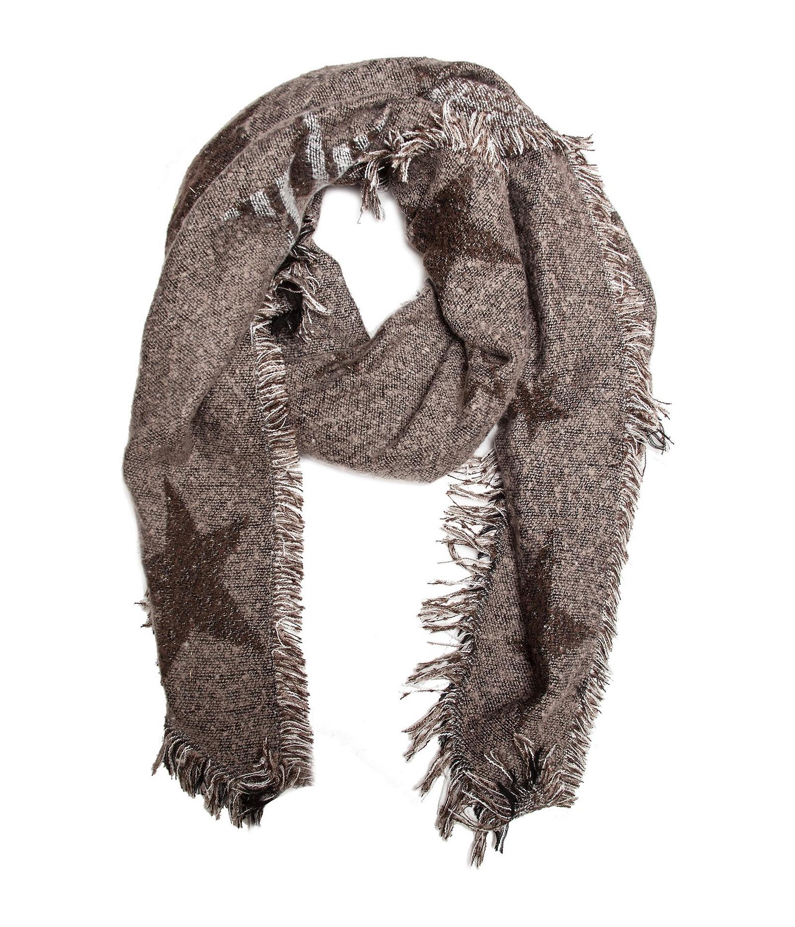 Шарф шарф женский henry backer цвет розовый hb1605b14 63 размер 100 см х 200 см