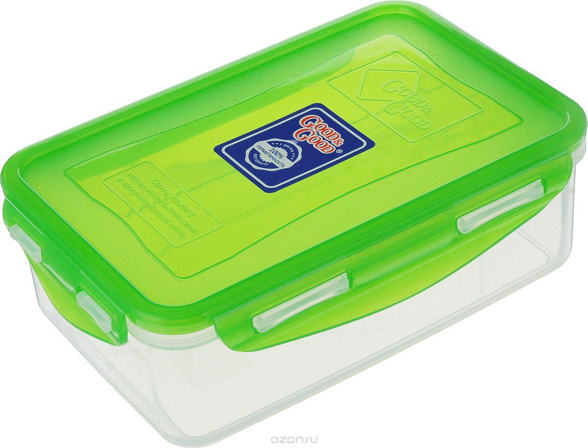 Контейнер пищевой Good&Good, цвет в ассортименте, 1,1 л, B/COL 3-1 контейнер пищевой good