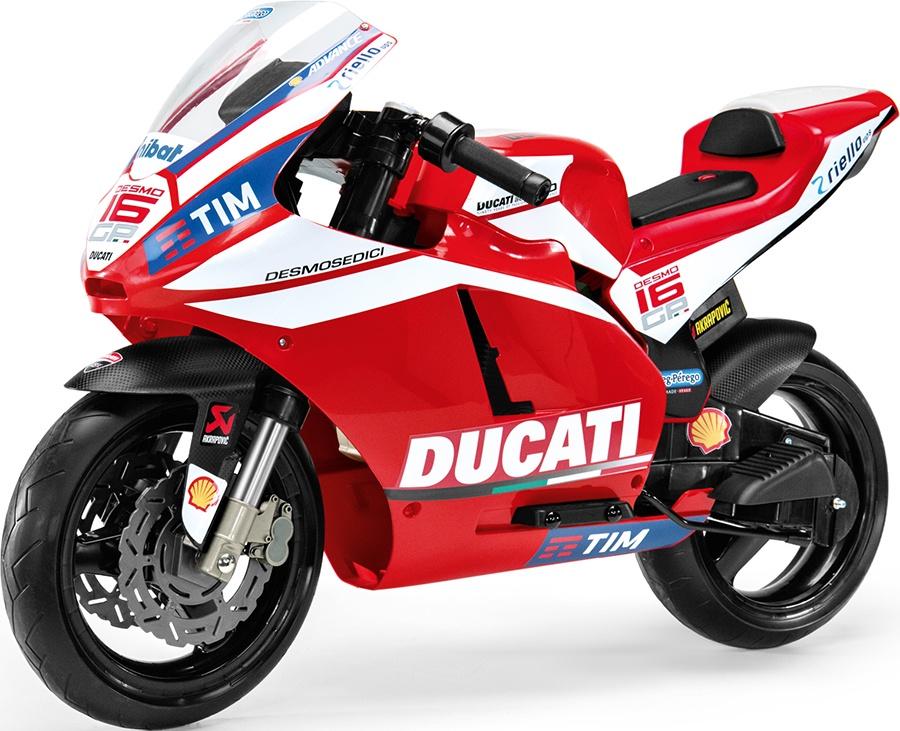 Детский электромобиль Peg-Perego Ducati GP, цвет: красный