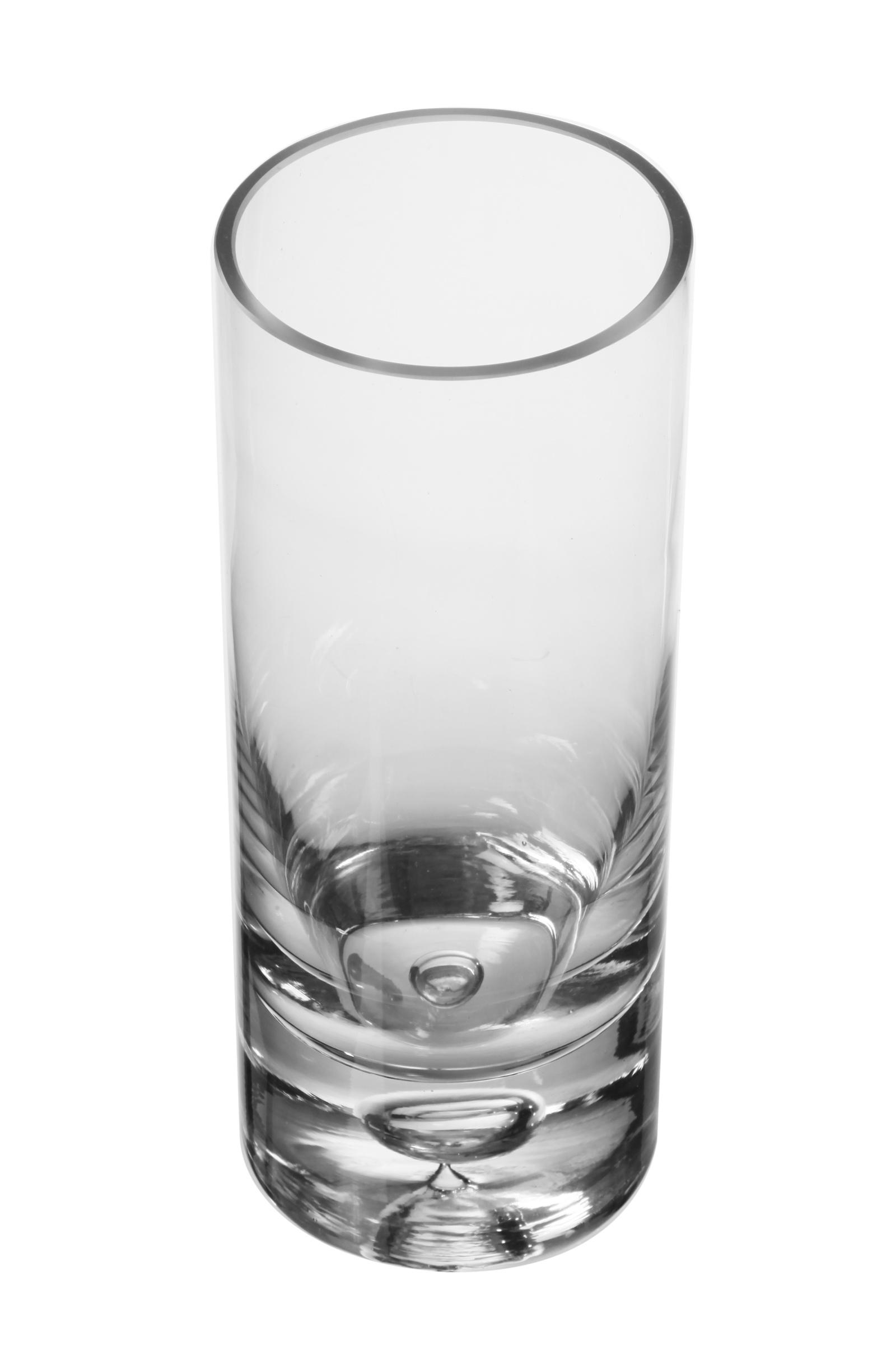 Ваза IsmatDecor Стеклянная ваза, ST-1 прозрачный, прозрачный