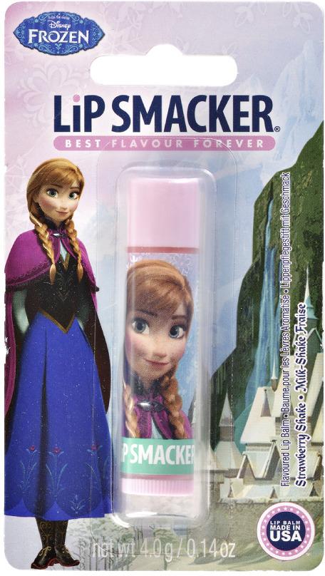 Бальзам для губ Lip Smacker Disney Anna Strawberry Glow, с ароматом Клубника, 4 г косметика для мамы nivea lip care бальзам для губ ромашка и календула 4 8 г