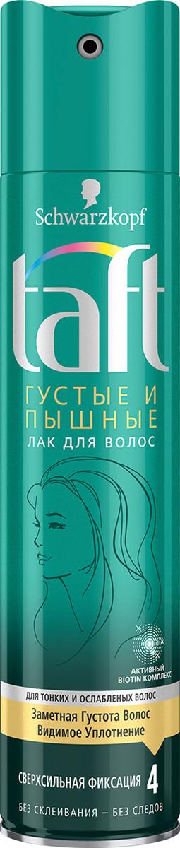 Taft Classic Лак Густые и Пышные cверхсильная фиксация, 225 мл