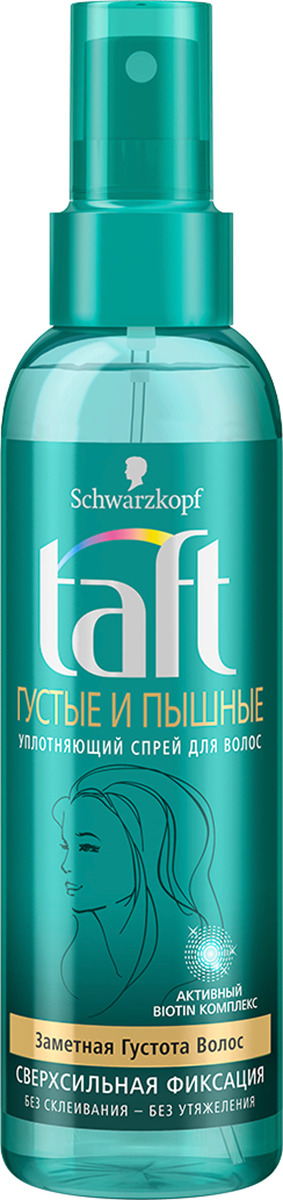 Taft Classic Cпрей Густые и Пышные сверхсильная фиксация, 150 мл