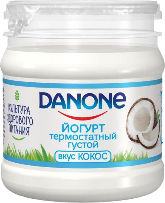 Йогурт термостатный 3,3% Danone Кокос, 160 г