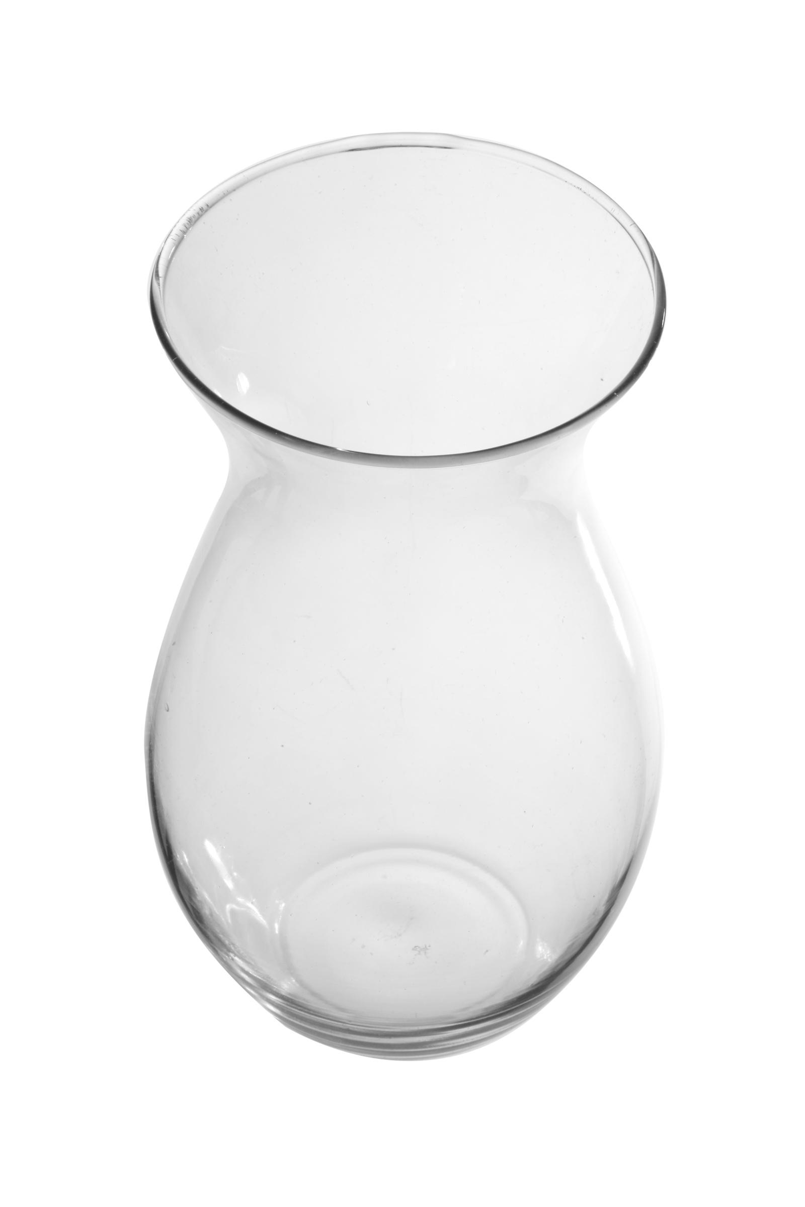 Ваза IsmatDecor Стеклянная ваза, ST-7 прозрачный, прозрачный