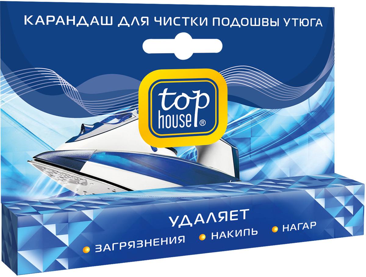Карандаш для чистки подошвы утюга Top House, 32 г карандаш для чистки подошвы утюга top house 32 г