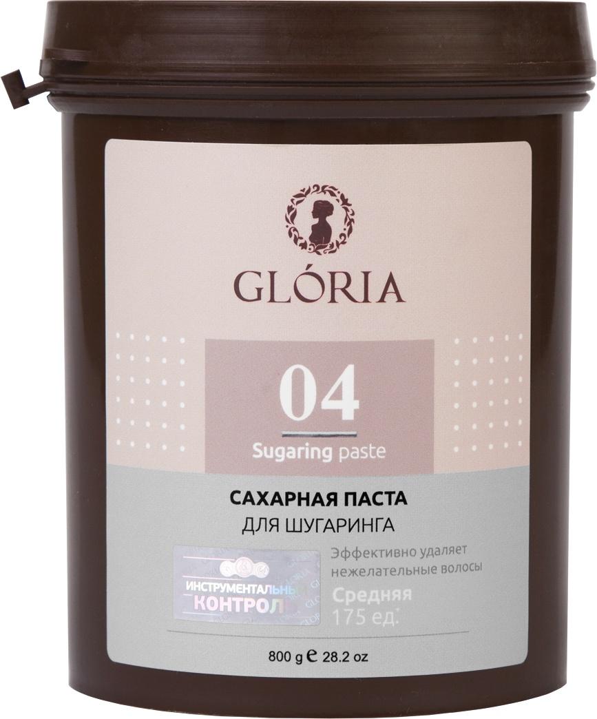 Сахарная паста для депиляции GLORIA CLASSIC Средняя 800 гр