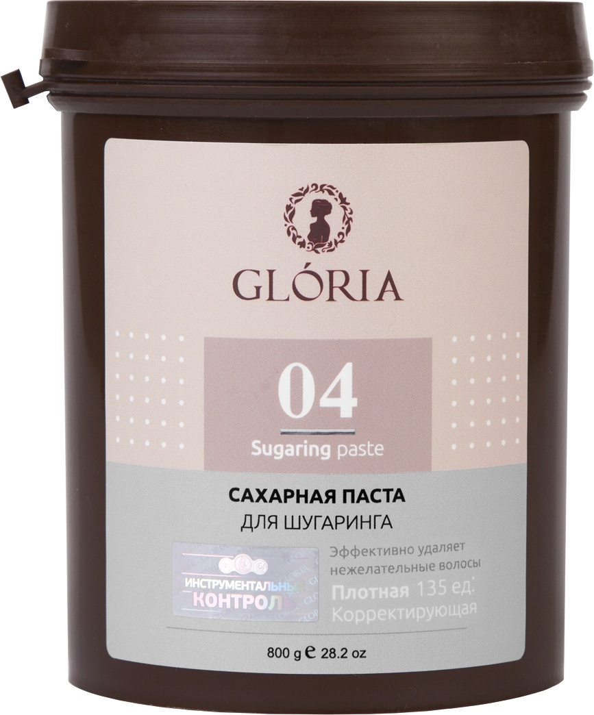 Сахарная паста для депиляции GLORIA CLASSIC Плотная 800 гр все цены
