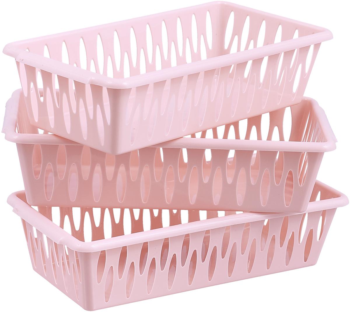 Корзина универсальная BranQ Light XS, цвет: йогуртовый, 19,5 х 10 х 5 см корзина универсальная branq light цвет йогуртовый 25 5 х 15 х 7 2 3 шт