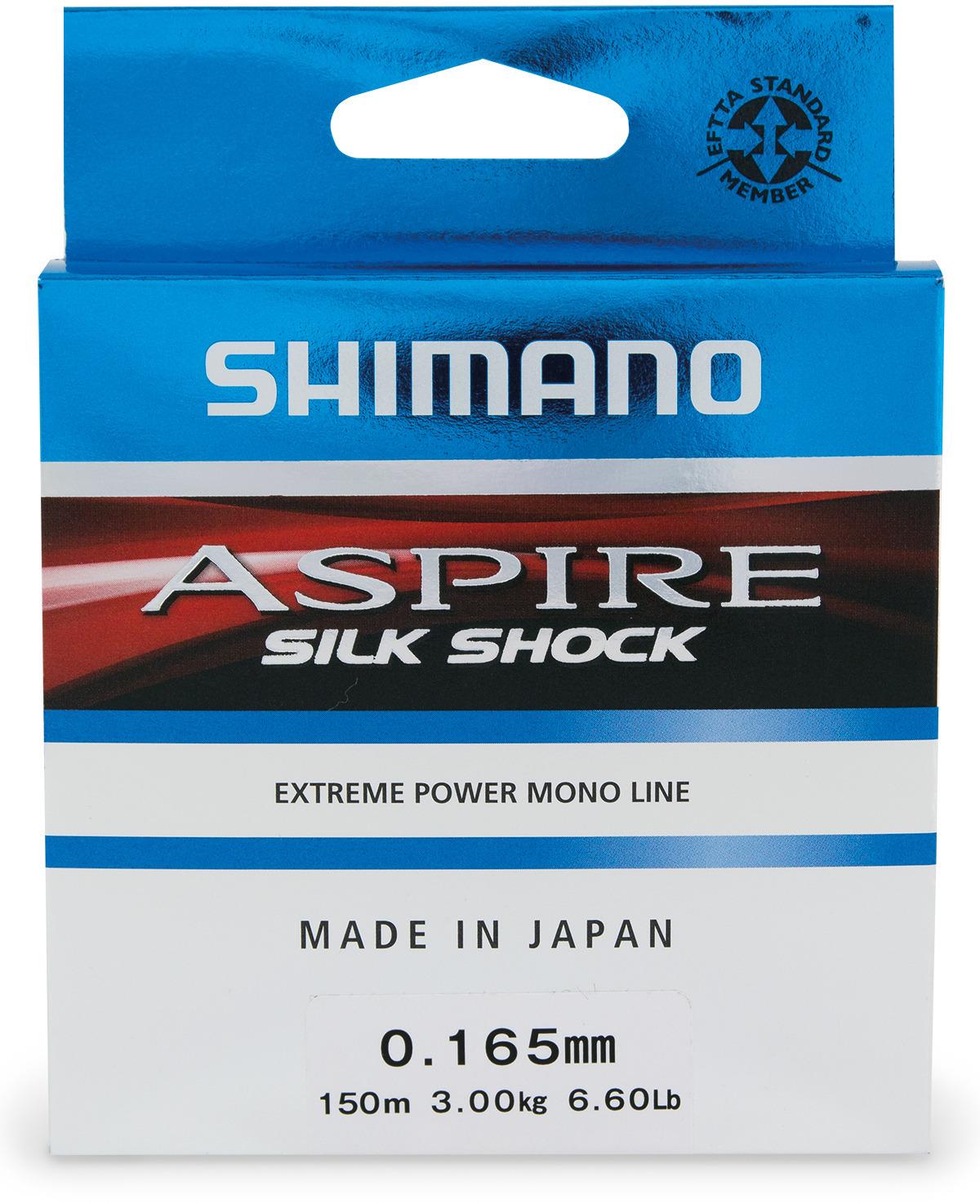 Леска зимняя Shimano Aspire Silk S Ice, цвет: прозрачный, 50 м, 0,30 мм, 9,4 кг